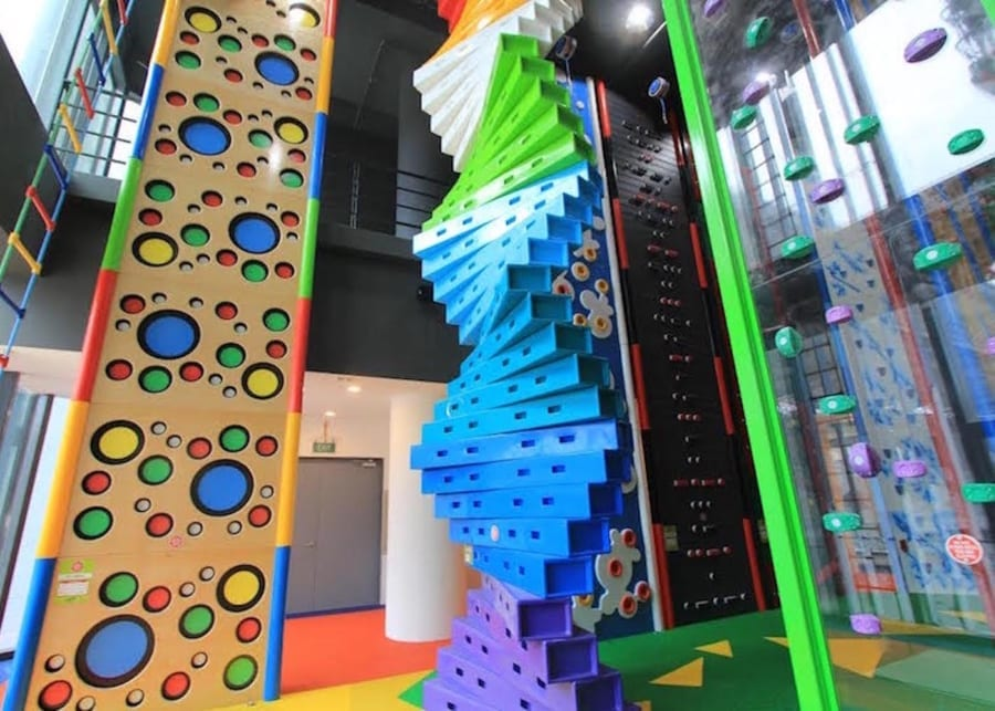 HomeTeamNS Clip 'n Climb | indoor play centres in Singapore