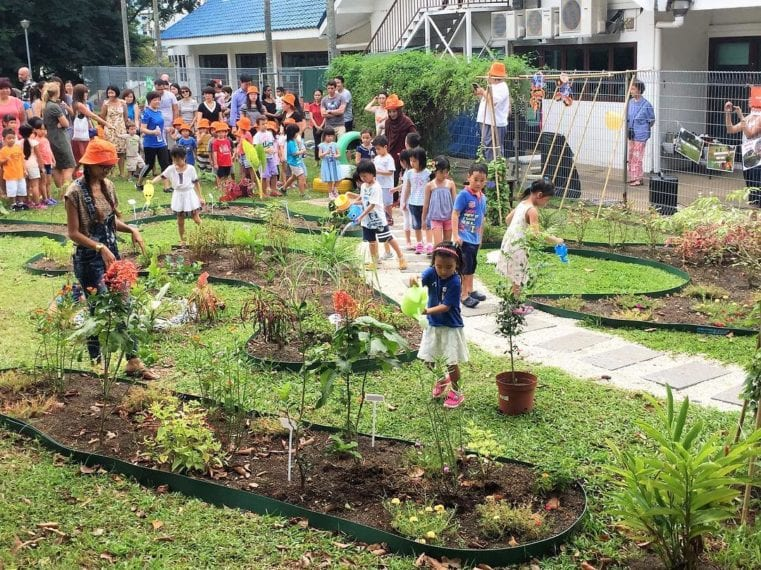 The Leng Kee CC sky community garden