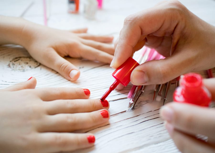 Our top picks for mother-child mani-pedis in Singapore