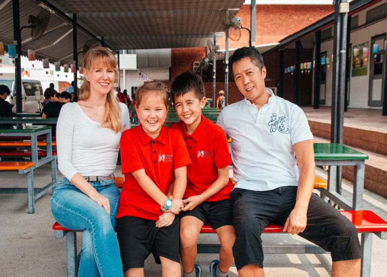 Norman and Ruth Li share why they love Hillside World Academy Singapore